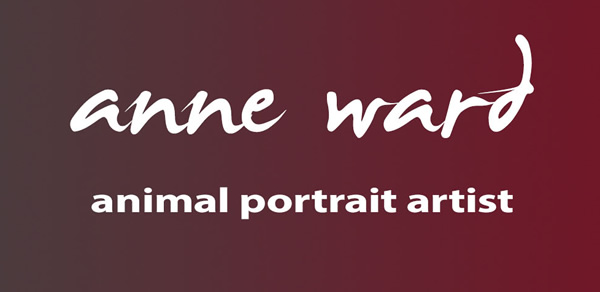 Anne Ward artist specialising in horse and dog portraits logo