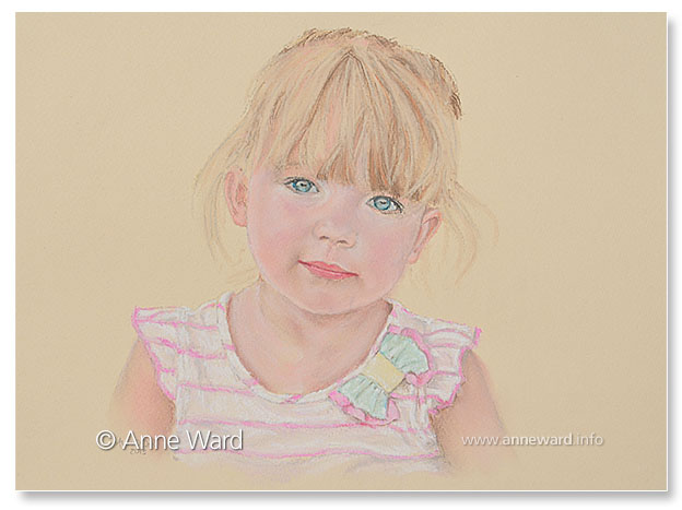 Anne Ward artist child portrait